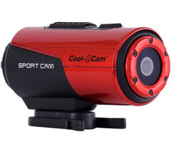 Cool iCAM S3000 Action Camcorder - Red