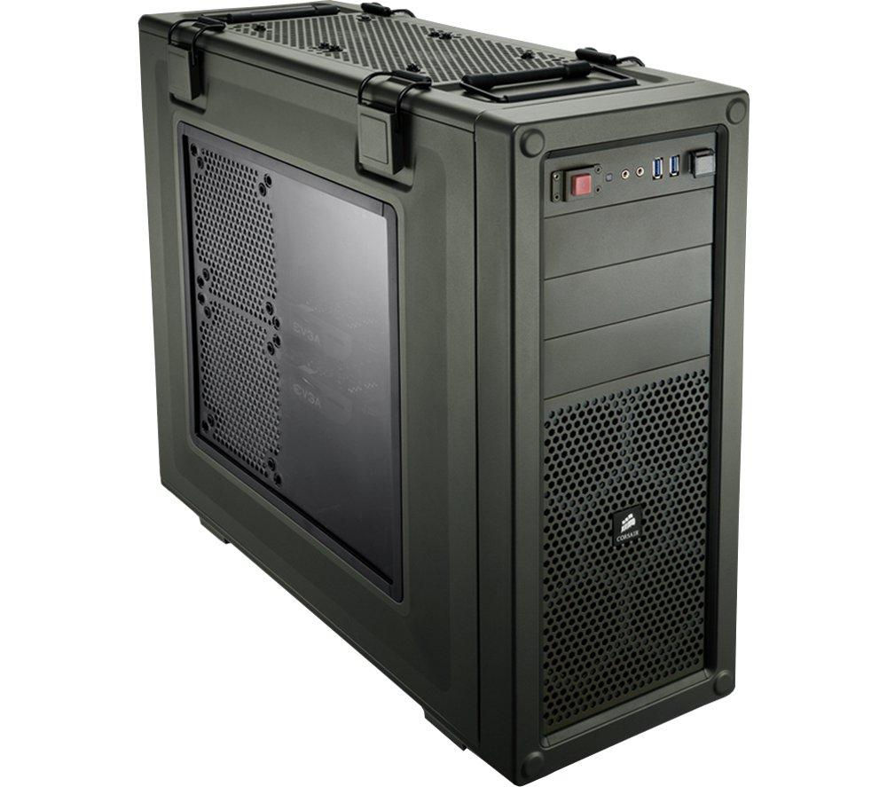 CORSAIR Vengeance C70 Mid-Tower Gaming PC Case - Military Green