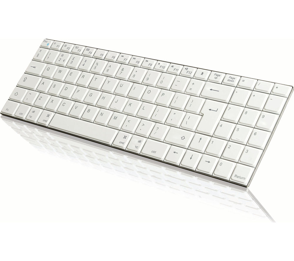 IWANTIT Bluetooth Mac Keyboard - White