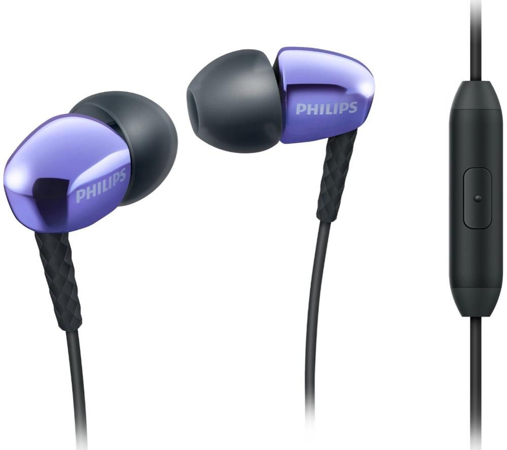 PHILIPS SHE3905 Headphones - Purple