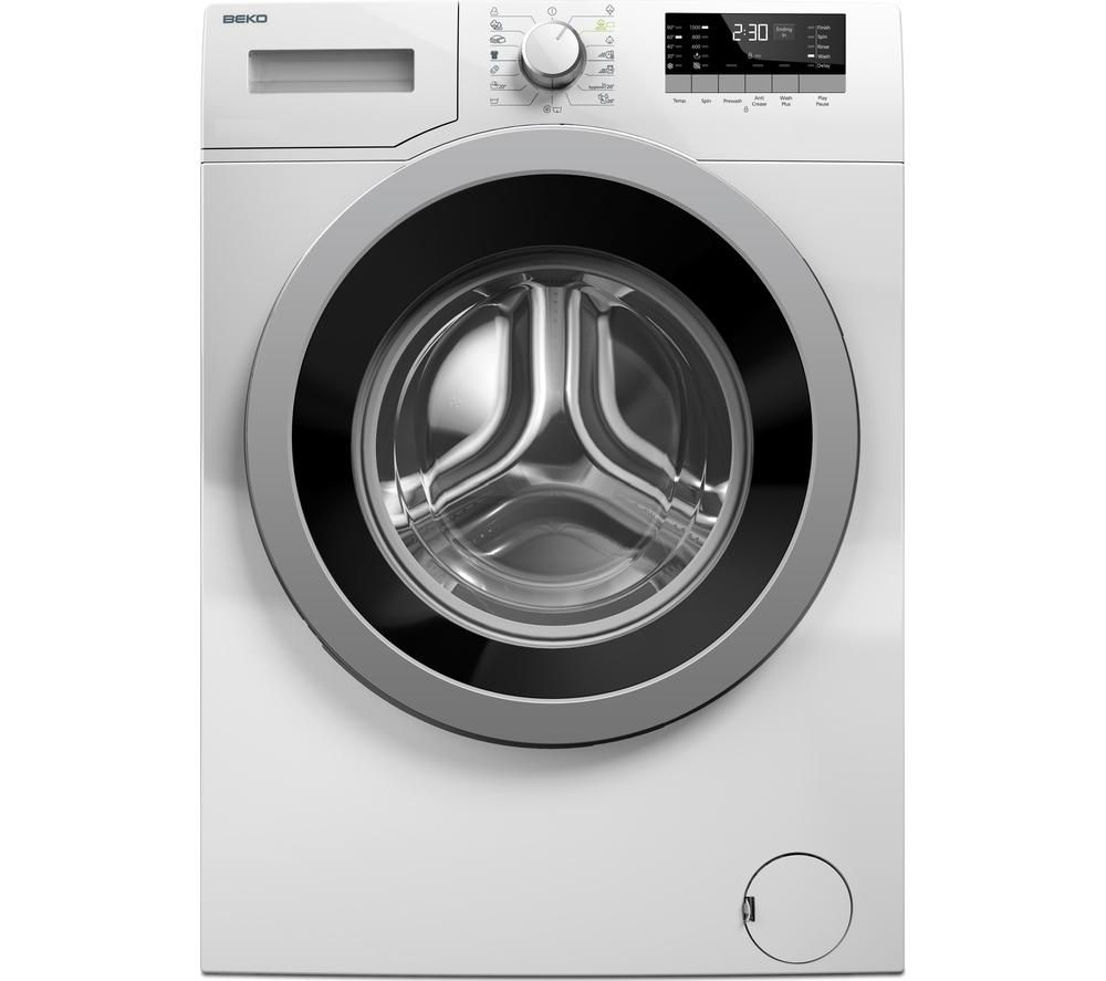 BEKO  WX842430W Washing Machine - White +  Select DSX83410W Heat Pump Tumble Dryer - White
