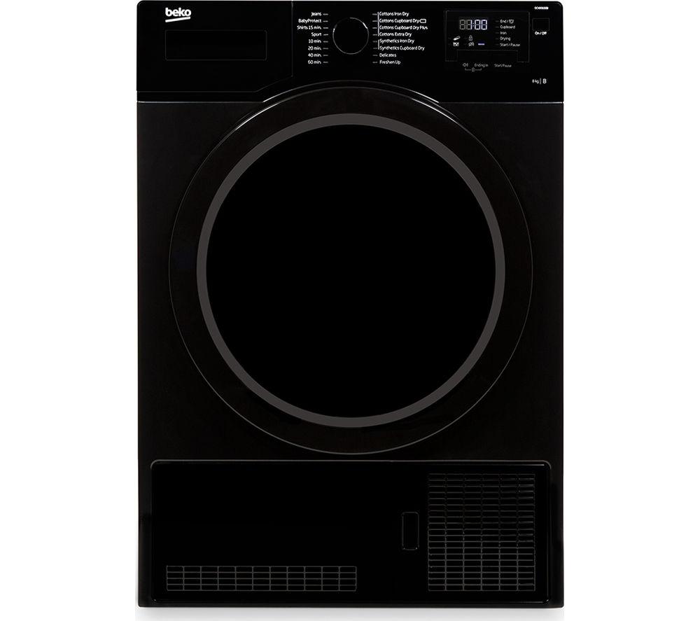BEKO  DCX83100B Condenser Tumble Dryer  Black Black