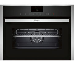 NEFF C17FS32N0B Compact Electric Steam Oven - Stainless Steel