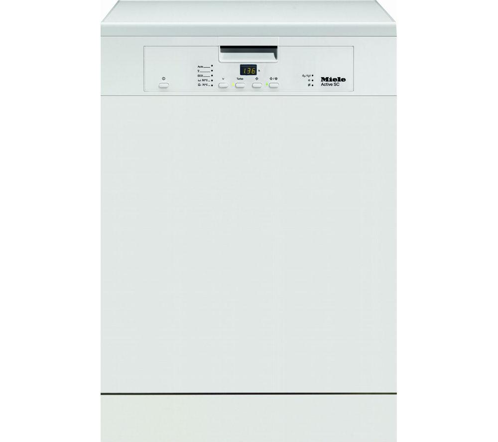 Miele G4203SC Full-Size Dishwasher - White, White