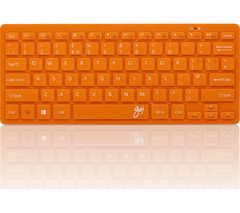 GOJI GKBMMOR16 Wireless Keyboard - Orange
