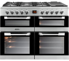 LEISURE Cuisinemaster 100 Dual Fuel Range Cooker - Stainless Steel
