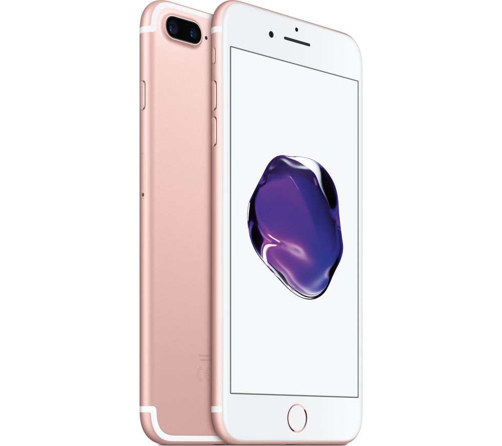 buy apple iphone 7 plus rose gold 256 gb free delivery currys. Black Bedroom Furniture Sets. Home Design Ideas
