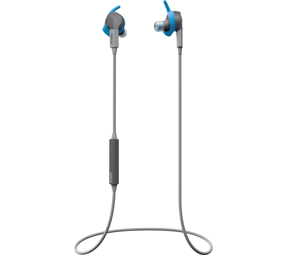Click to view more of BLUE JABRA  Coach Special Edition Wireless Bluetooth Headphones - Blue, Blue