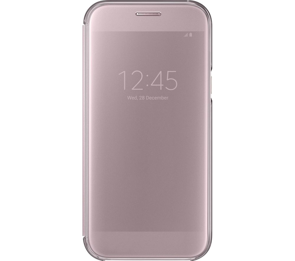 SAMSUNG Clear View Galaxy A5 Case - Pink Gold