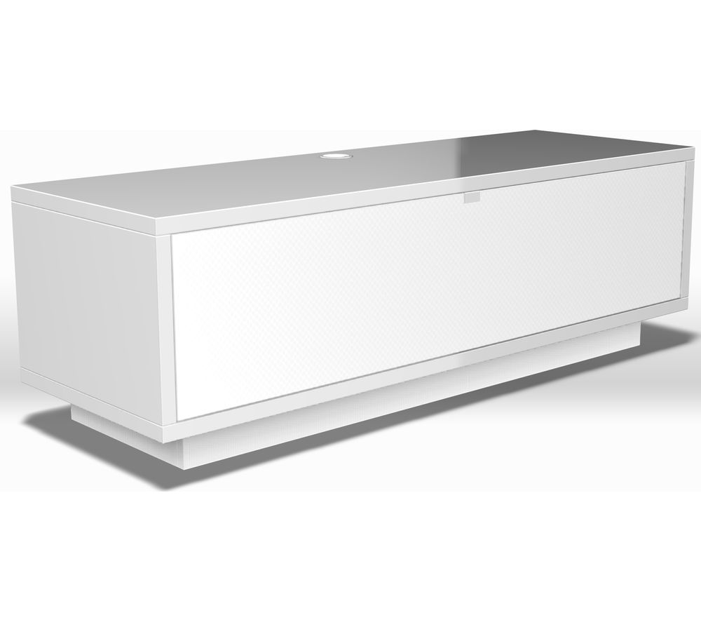 buy schnepel varic 2 0 sound tv stand white gloss free delivery currys. Black Bedroom Furniture Sets. Home Design Ideas