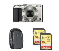 NIKON COOLPIX A900 Superzoom Compact Camera - Silver