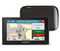 """GARMIN DriveSmart 51LMT-D EU 5"""" Sat Nav - Full Europe Maps & Case"""