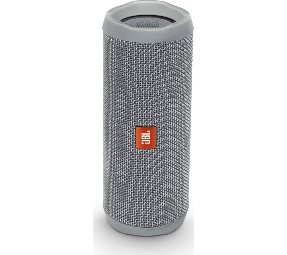 buy jbl flip 4 portable bluetooth wireless speaker grey free delivery currys. Black Bedroom Furniture Sets. Home Design Ideas