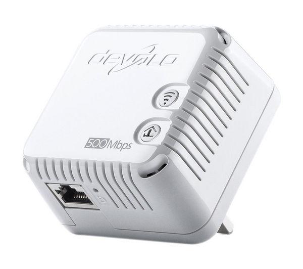 buy devolo dlan 500 wireless powerline adapter kit triple pack free delivery currys. Black Bedroom Furniture Sets. Home Design Ideas