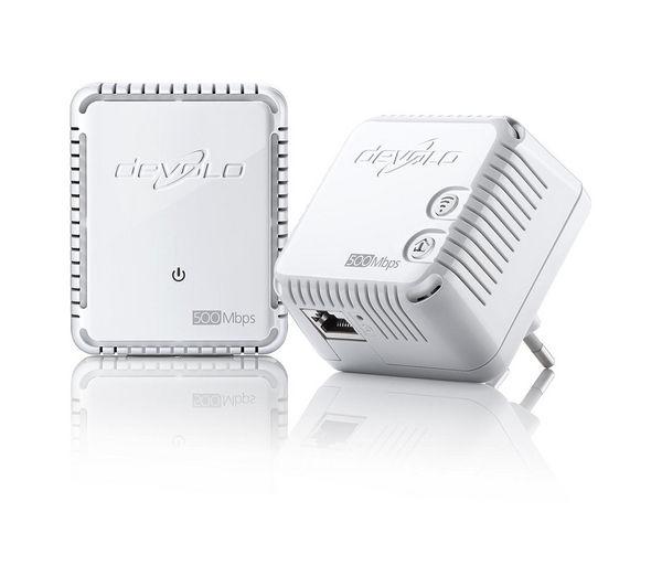 Image of DEVOLO dLAN 500 Wireless Powerline Adapter Kit - Triple Pack