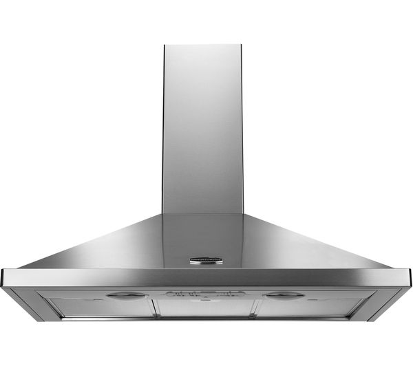 RANGEMASTER LEIHDC100SS/C Chimney Cooker Hood - Stainless Steel
