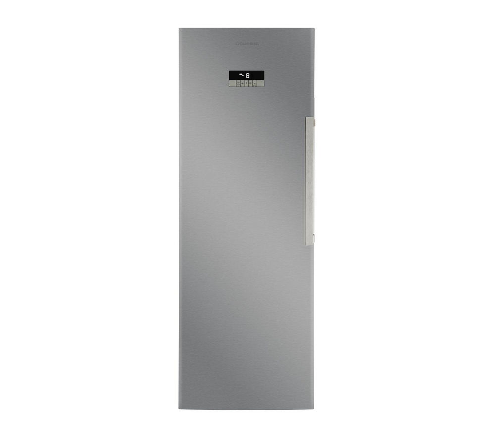 Image of GRUNDIG GFN13820X Tall Freezer - Stainless Steel, Stainless Steel