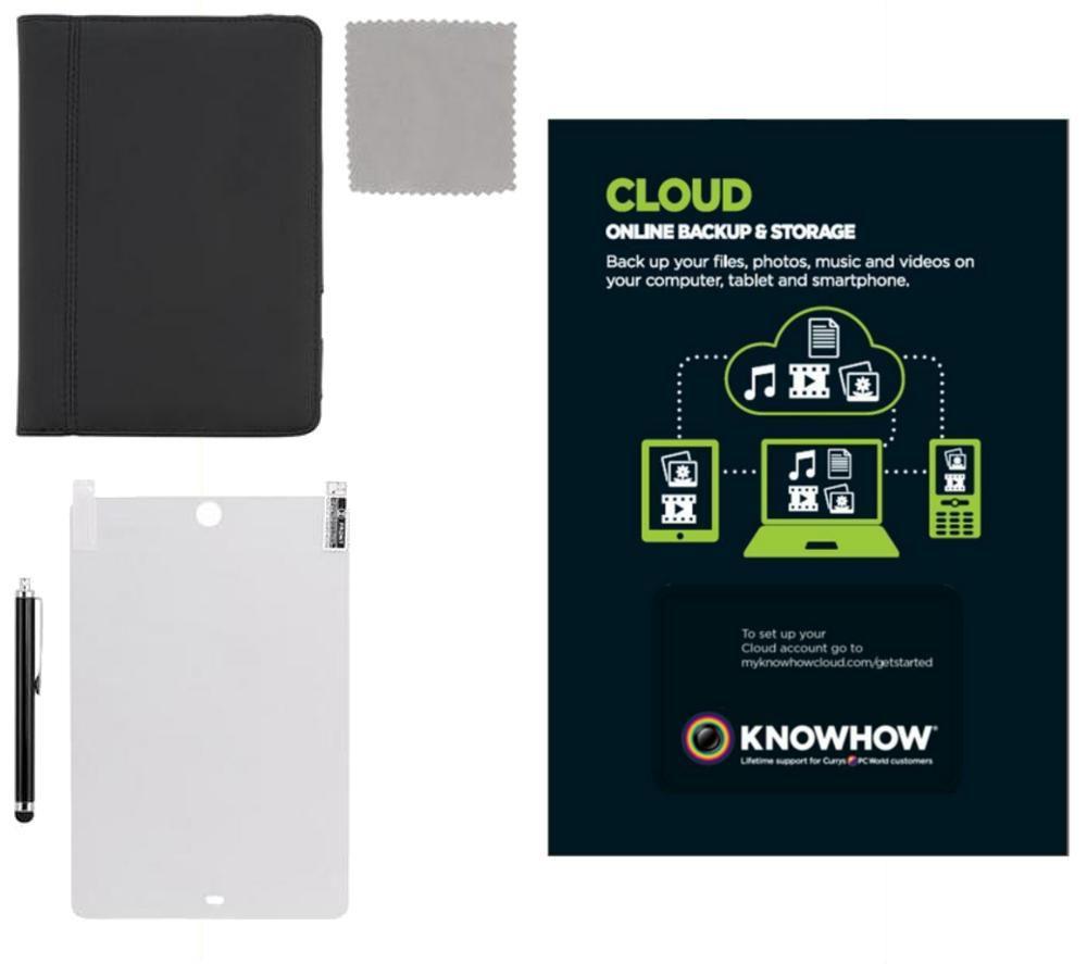 IIMSK12 iPad mini Starter Kit with Knowhow Cloud Storage 2 TB 1 Year Backup Service