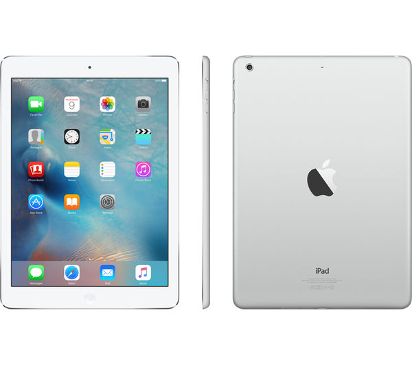 Buy APPLE iPad Air 1 - 16 GB, Silver | Free Delivery | Currys