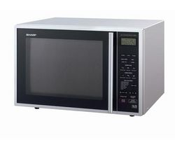 SHARP R959SLM Combination Microwave - Black & Silver