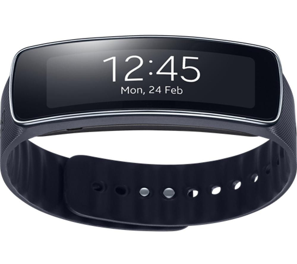 SAMSUNG R3500 Gear Fit Smart Watch - Black