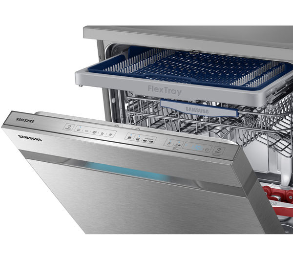 buy samsung waterwall dw60h9950fs full size dishwasher. Black Bedroom Furniture Sets. Home Design Ideas