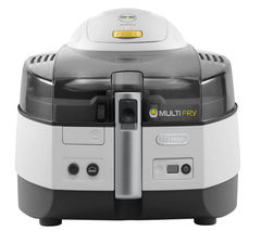 DeLonghi FH1363 Extra Multifry Fryer (White & Black)