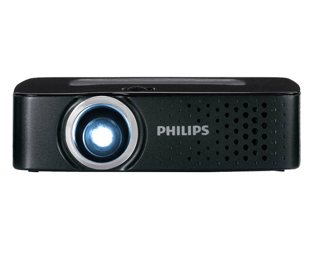 Philips picopix ppx3614 portable projector deals pc world for Portable projector for laptop