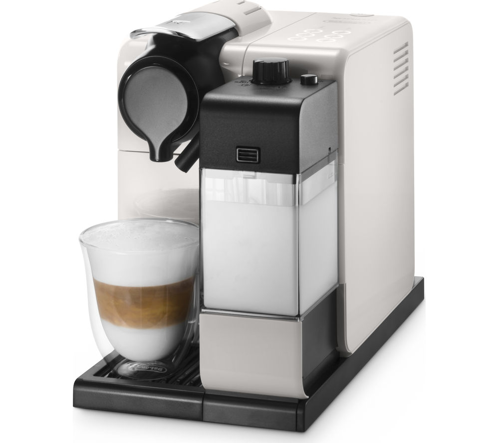 buy nespresso by de 39 longhi lattissima touch en550 w coffee machine white free delivery currys. Black Bedroom Furniture Sets. Home Design Ideas