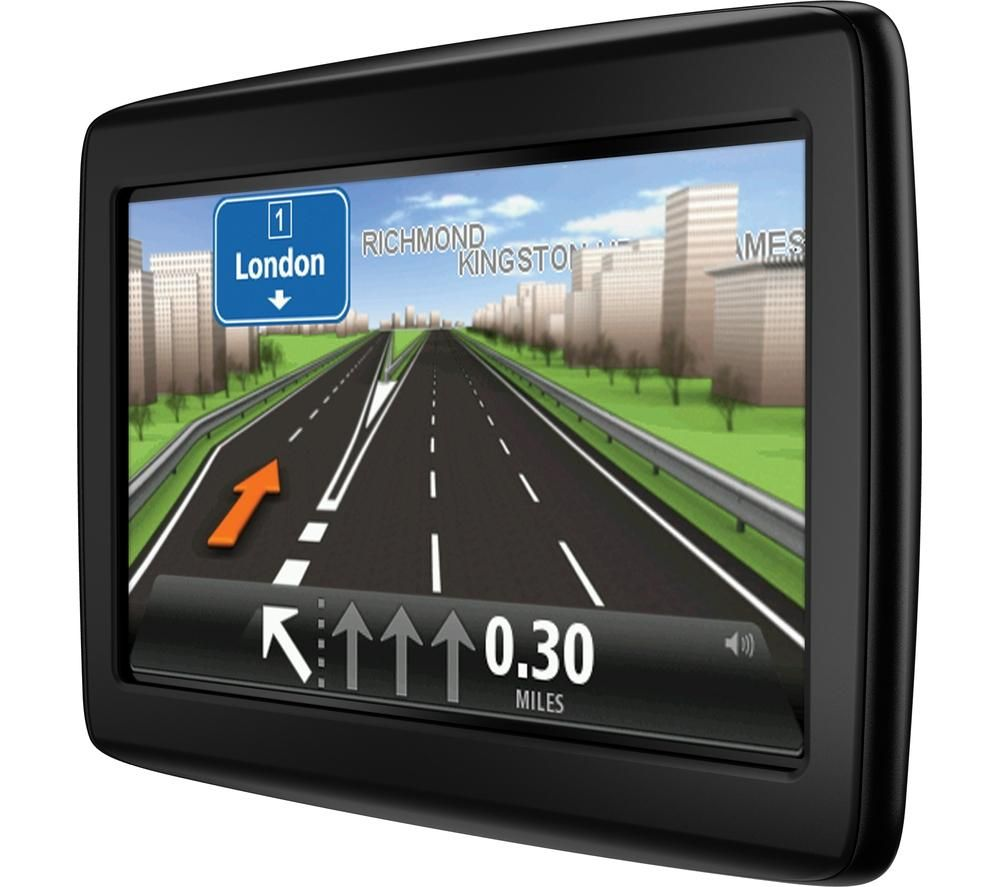 Tomtom Start   Sat Nav With Uk Roi Western Europe Maps