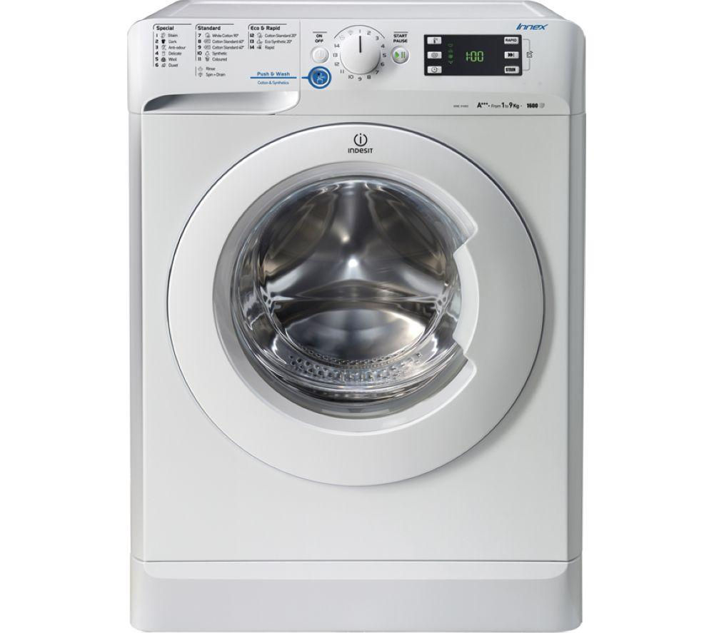 buy indesit xwe91683wwg washing machine white free delivery currys. Black Bedroom Furniture Sets. Home Design Ideas