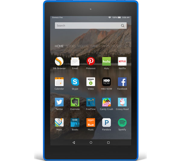 "Image of AMAZON Fire HD 8"" Tablet - 8 GB, Blue"