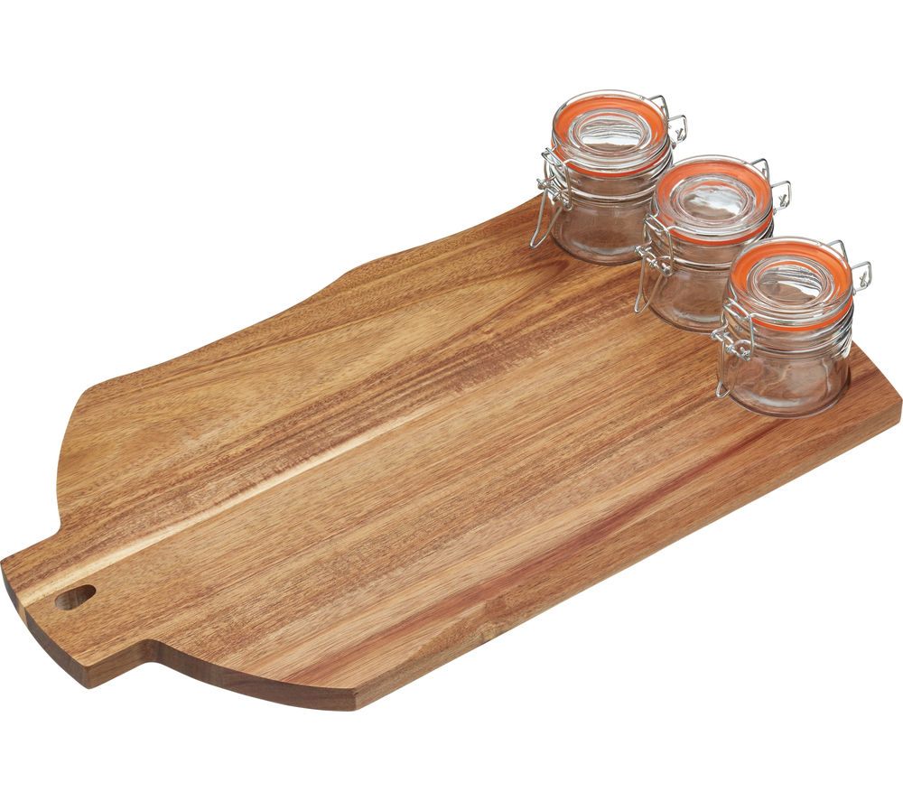 Image of ARTESA Stylish Wooden Serving Set