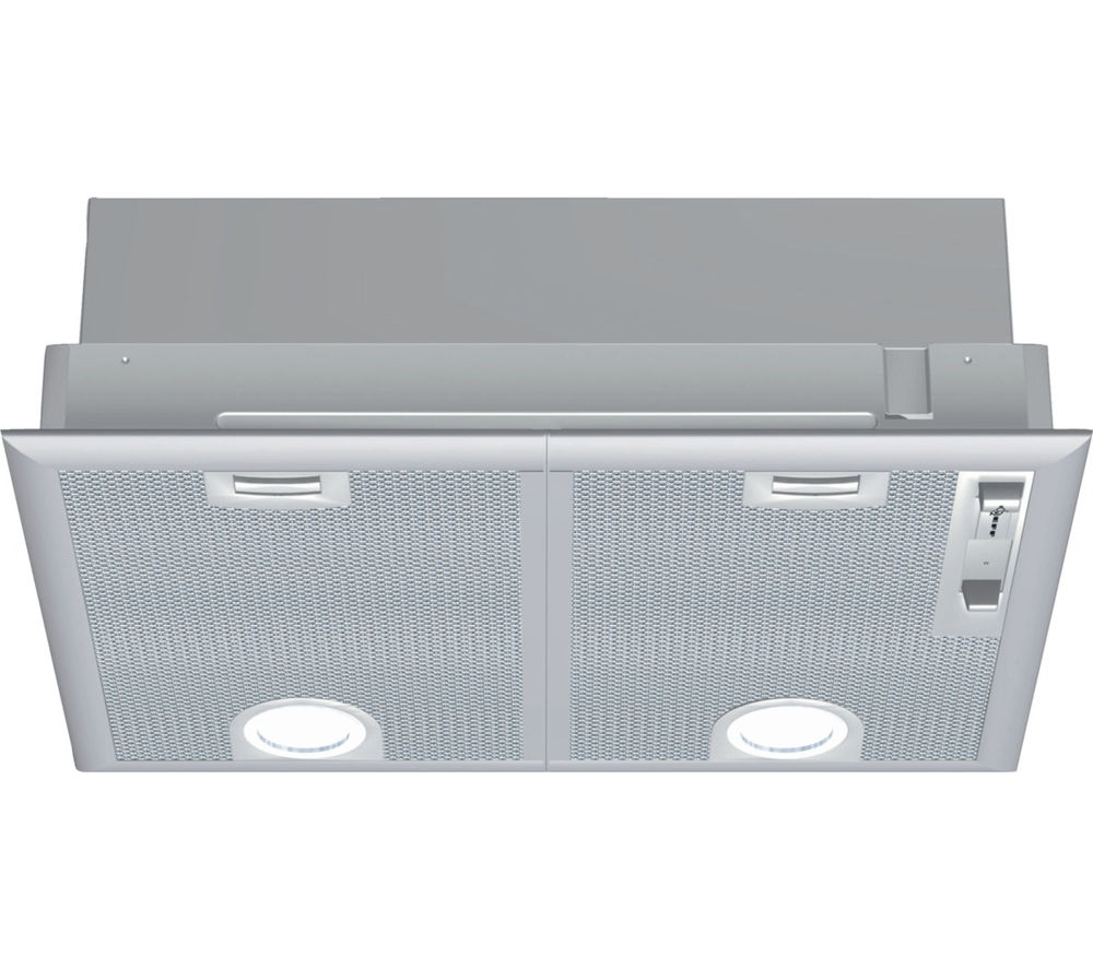 NEFF  D5655X0GB Canopy Cooker Hood  Silver Silver