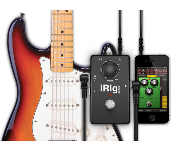 irig stomp guitar stompbox deals pc world. Black Bedroom Furniture Sets. Home Design Ideas