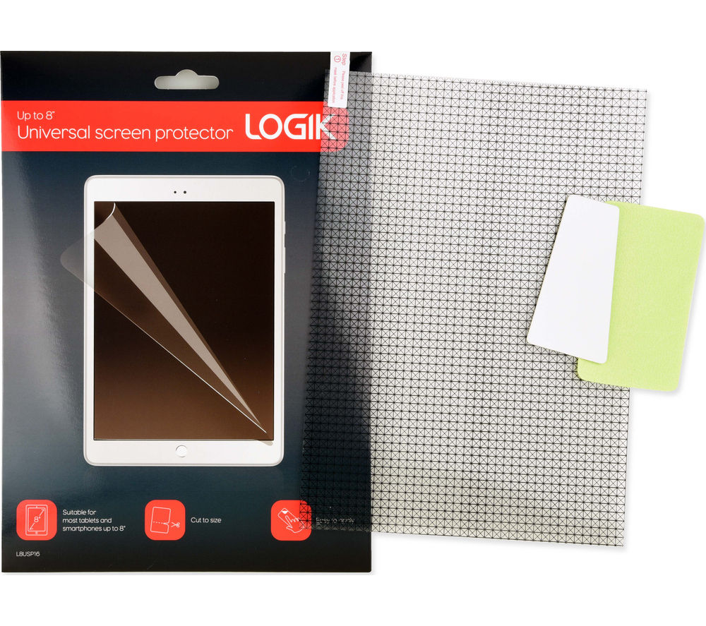 "LOGIK L8USP16 8"" Universal Screen Protector"