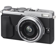 FUJIFILM FinePix X70 High Performance Compact Camera - Silver
