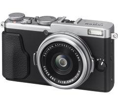 FUJIFILM FinePix X70 High Performance Compact Camera - Silver