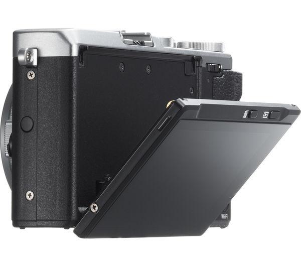 Image of FUJIFILM FinePix X70 High Performance Compact Camera - Silver