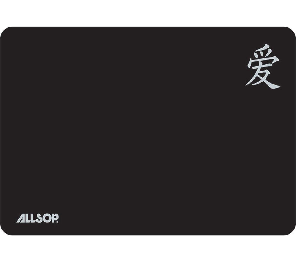 ALLSOP 06196 Screen Protector & Mousepad - Black