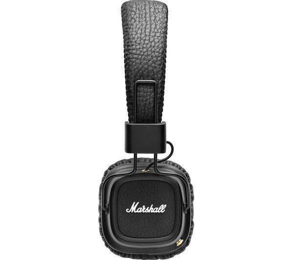 Image of MARSHALL Major II Wireless Bluetooth Headphones - Black
