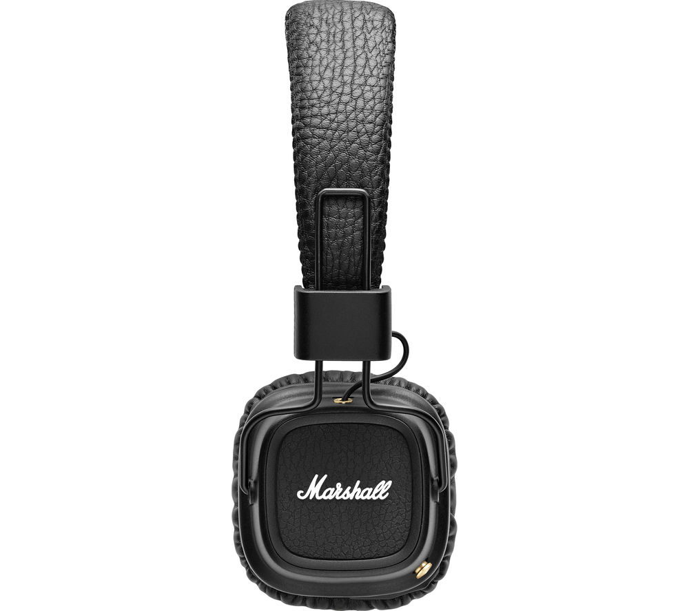 Click to view more of MARSHALL  Major II Wireless Bluetooth Headphones - Black, Black