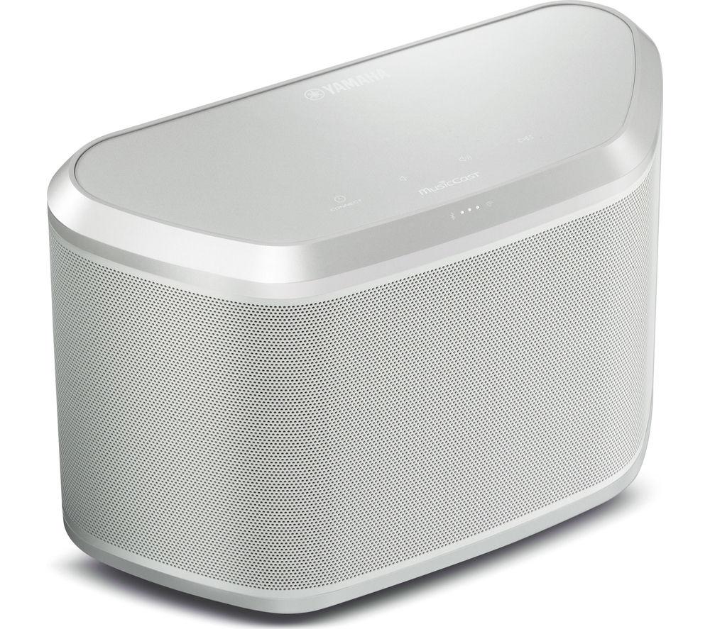 Yamaha WX030 Wireless Smart Sound Multi-Room Speaker - White, White