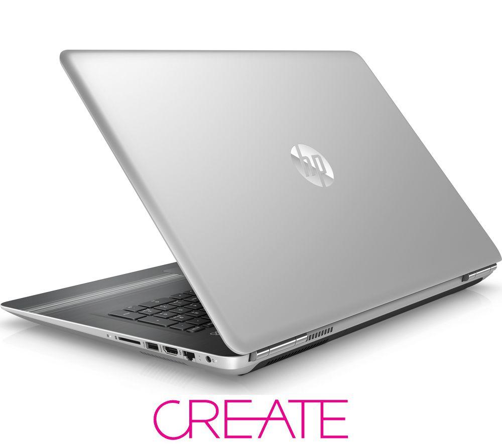 "Image of HP Pavilion 17-ab051sa 17.3"" Laptop - Silver"