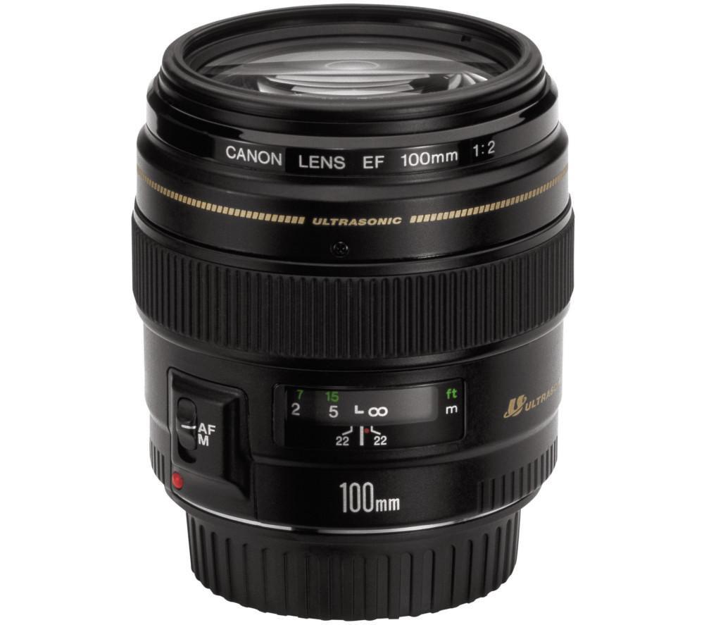 CANON EF 100 mm f/2.0 USM Standard Lens