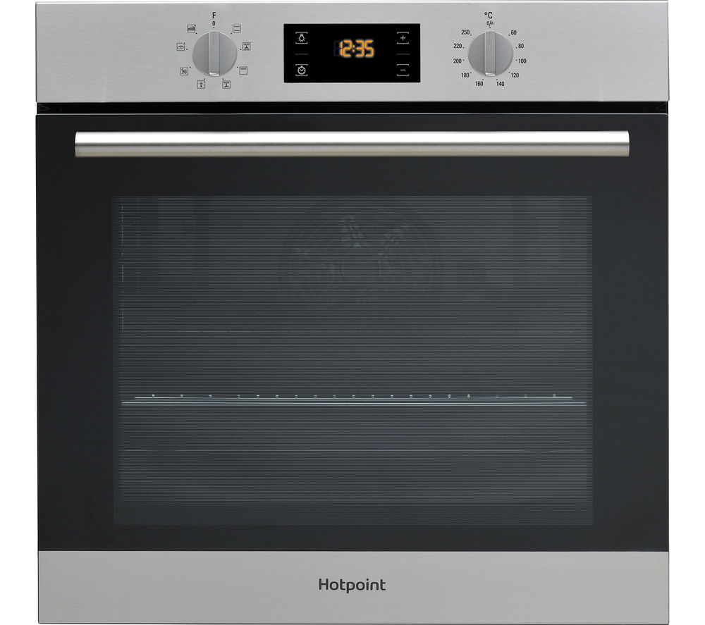 Superior Single Oven With Grill Part - 1: HOTPOINT Class 2 SA2 544 C IX Electric Single Oven - Stainless Steel