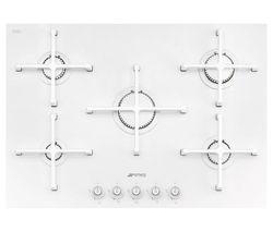 SMEG Linea PV175CB Gas Hob - White