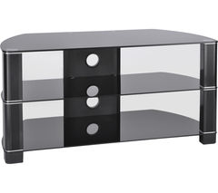 TTAP Symmetry 1200 TV Stand - Black