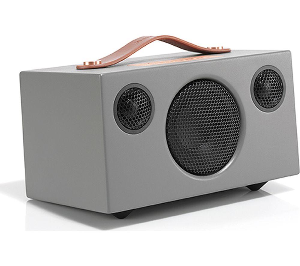 Image of AUDIO PRO Addon T3 Portable Bluetooth Wireless Speaker - Grey, Grey
