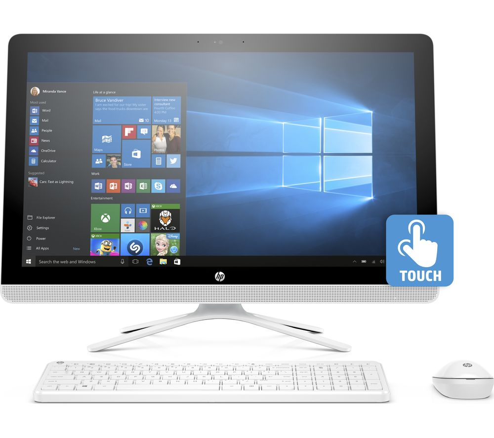 "HP 24-g086na 23.8"" Touchscreen All-in-One PC"